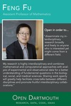Open Dartmouth: Feng Fu, Assistant Professor of Mathematics by Dartmouth College