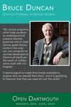 Open Dartmouth: Bruce Duncan, Emeritus PRofessor of German Studies by Dartmouth College