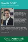 Open Dartmouth: David Kotz, Champion International Professor