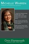 Open Dartmouth: Michelle Warren, Professor of Comparative Literature