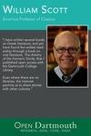 Open Dartmouth: William Scott, Emeritus Professor of Classics