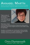 Open Dartmouth: Annabel Martín, Director of the Gender Research Institute at Dartmouth (GRID); Associate Professor of Spanish, WGSS, Comparative Literature