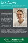 Open Dartmouth: Lisa Adams, Associate Professor of Community and Family Medicine; Associate Dean of Global Health