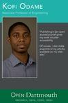Open Dartmouth: Kofi Odame, Associate Professor of Engineering
