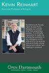 Open Dartmouth: Kevin Reinhart, Associate Professor of Religion