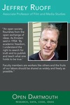 Open Dartmouth: Jeffrey Ruoff, Associate Professor of Film and Media Studies by Dartmouth College