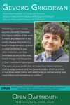 Open Dartmouth: Gevorg Grigoryan, Associate Professor of Computer Science, Adjunct Associate Professor of Biological Sciences, Adjunct Associate Professor of Chemistry by Dartmouth College